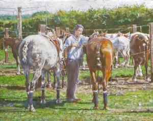 Syrett Dennis Saddling Up The Ponies