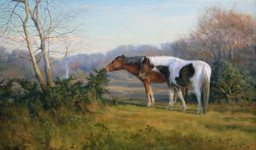 Colin Richens A S E A R M S Society Of Equestrian Artists