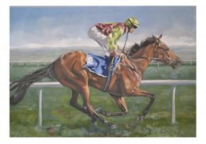 Jackie Hardman set square gallop