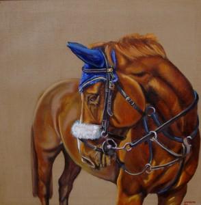 Roberts, lara Chestnut_65x65cm_canvas_framed