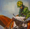 Roberts, lara Green Jockey