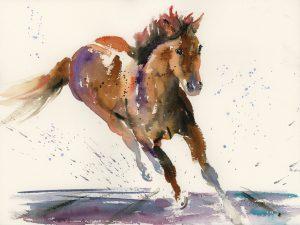 Karen Thomas Horse power