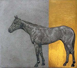 Horse Study – Blue