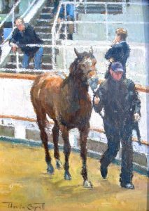 The Yearling at Tattersalls