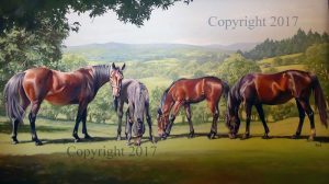 Mares and Foals I