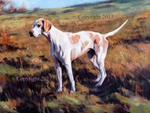 Bright – Study of A Hound
