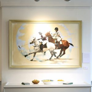 Horse in Art 2017 Denford Stud Best in Show by Rachel Vynne – 'The Legend'