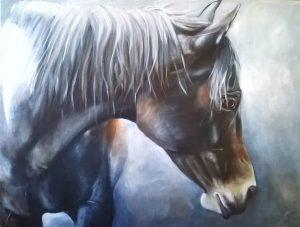 'Moonshine' 24 x 18 Oil on Canvas